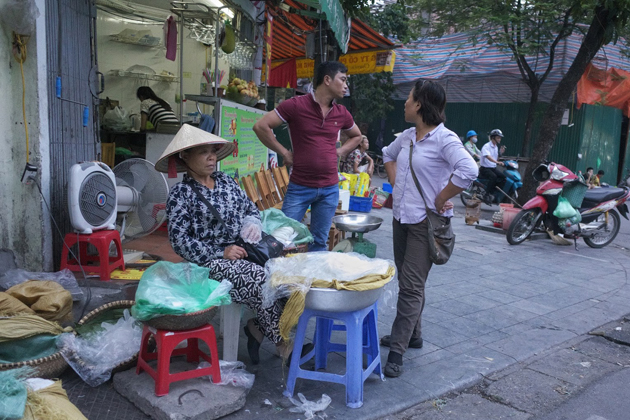 The attitudes of sellers in Hanoi may shock you a little