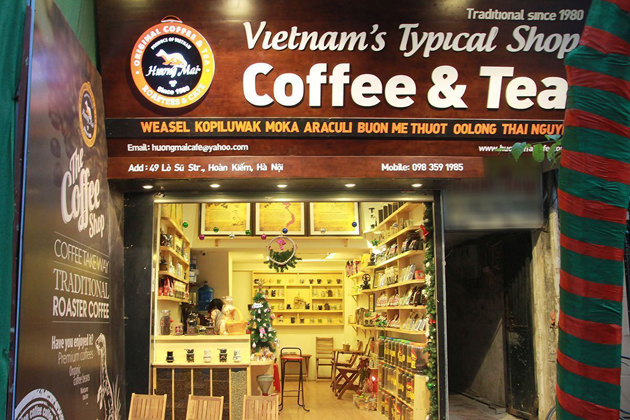 Coffee is the best souvenir to buy in Hanoi
