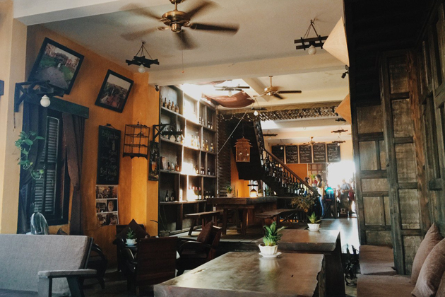 Find a quiet space in Hanoi and enjoy a cup of coffee