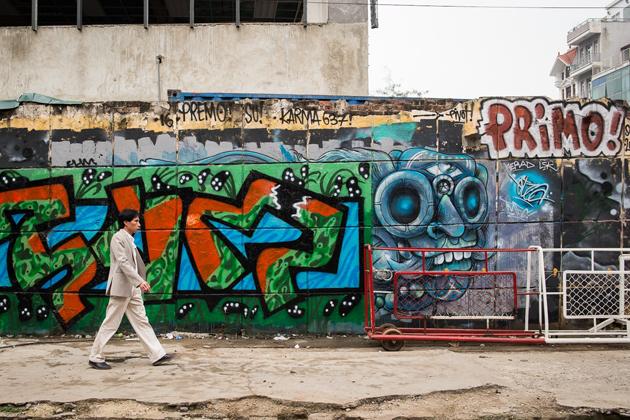 Hanoi Street Art