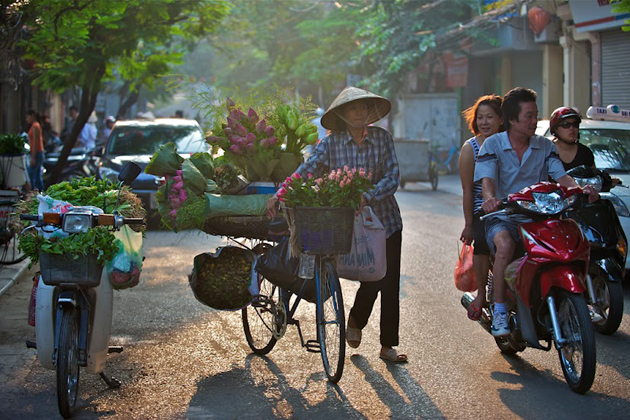 Hanoi in early morning