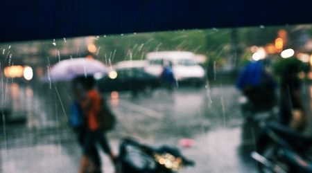 Hanoi in rainy days