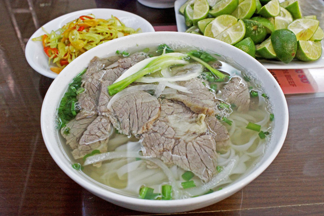 Pho - Noodle soup with beef