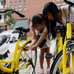 Renting bike in Hanoi