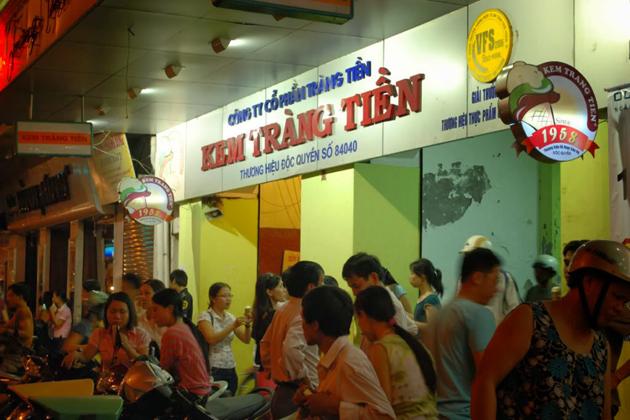 Trang TienIce cream