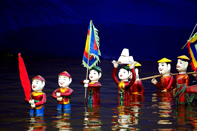 Water puppetry - Hanoi Culture