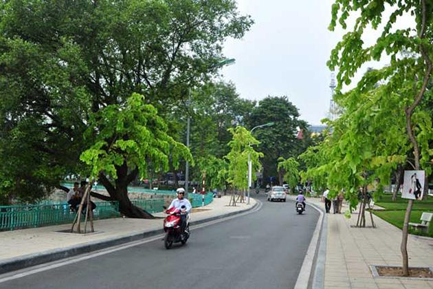 Nguyen Dinh Thi Street